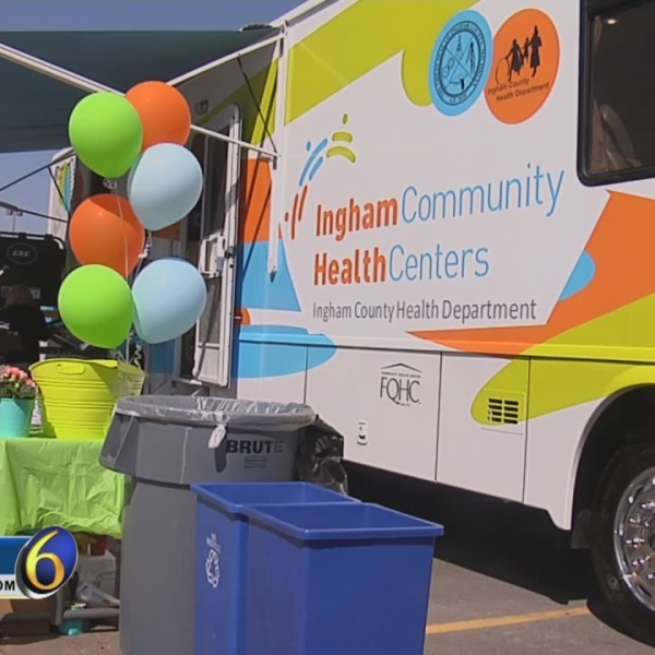 Mobile Dentist Office Rolling Through Ingham County