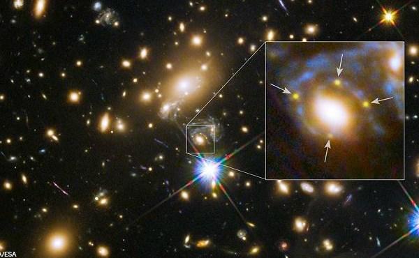 galaxycluster-hubble-030515NASAESA_26492
