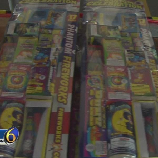 Firework sales skyrocket ahead of July 4th