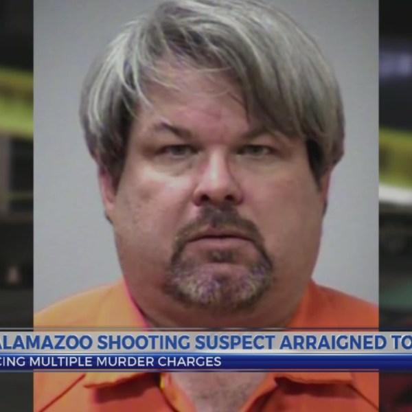 Kalamazoo shooting suspect arraigned