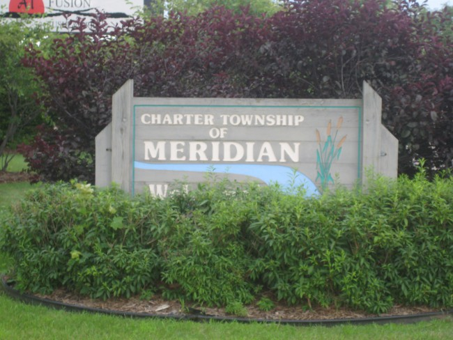 Meridian_Charter_Township_Michigan_Entrance_Sign_85917