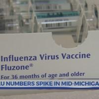 Flu numbers spike in mid-Michigan
