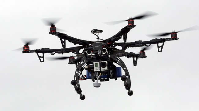 Small Drones Flights Over People_144762