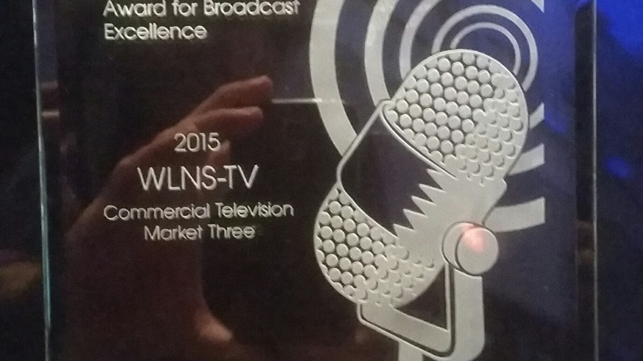 WLNS wins Station of the Year