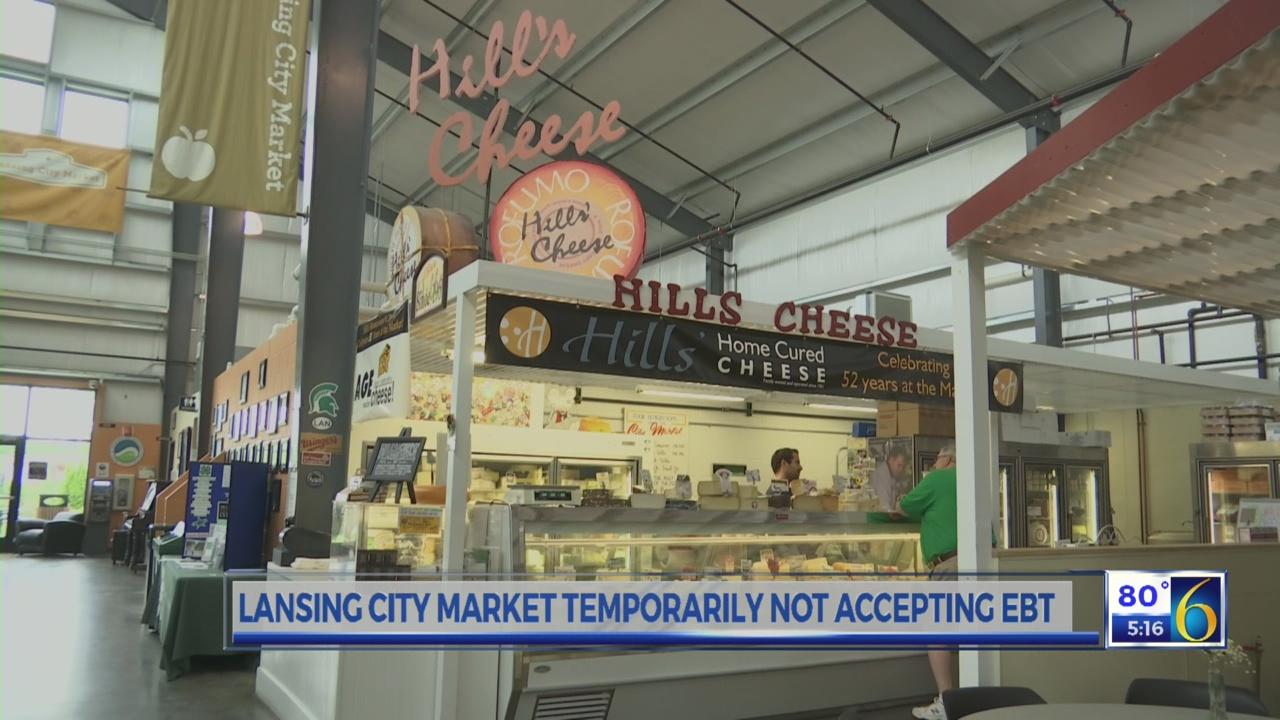 Lansing City Market not taking Bridge Cards