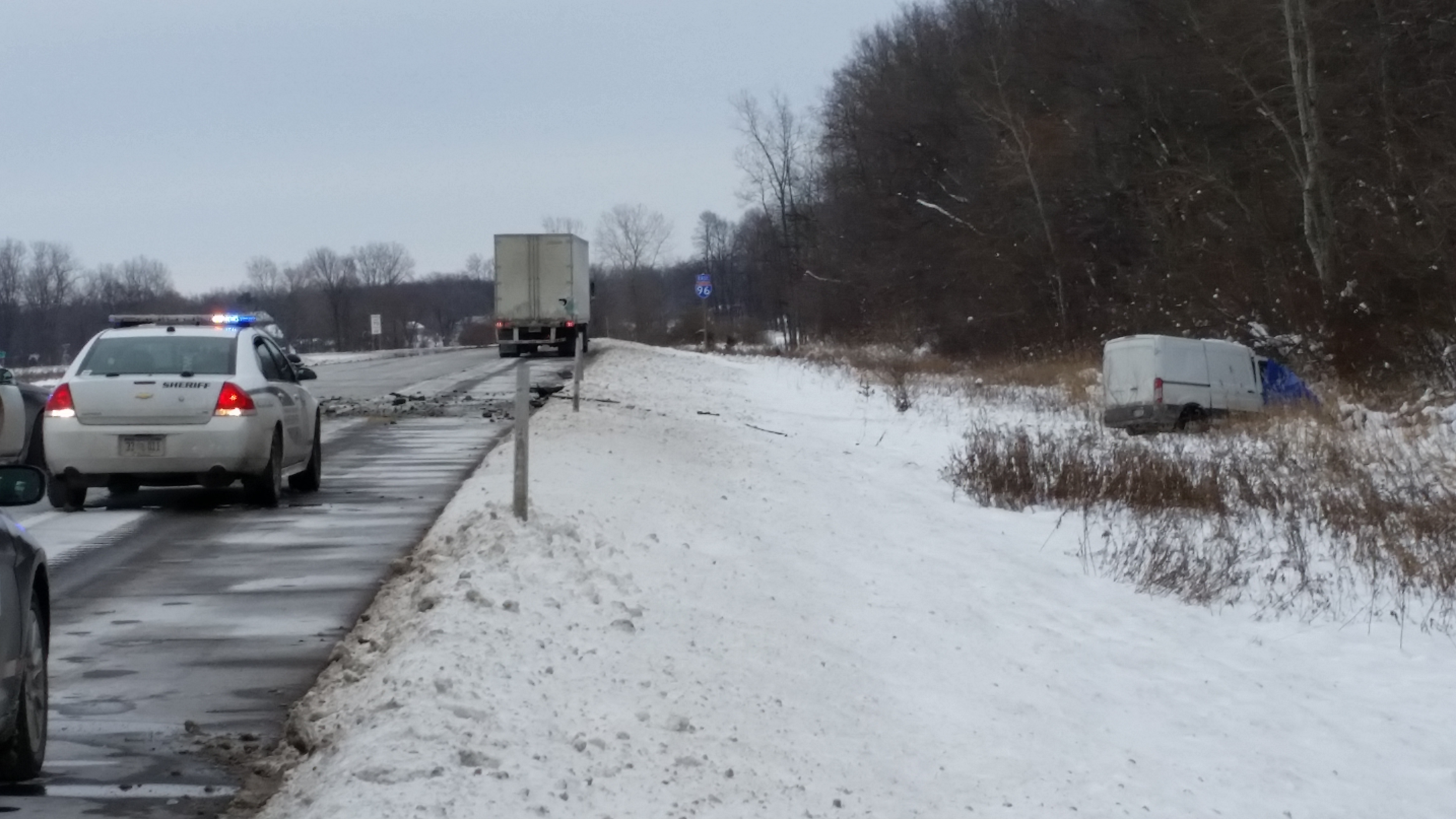 UPDATE: Victim identified in Friday's I-96 crash