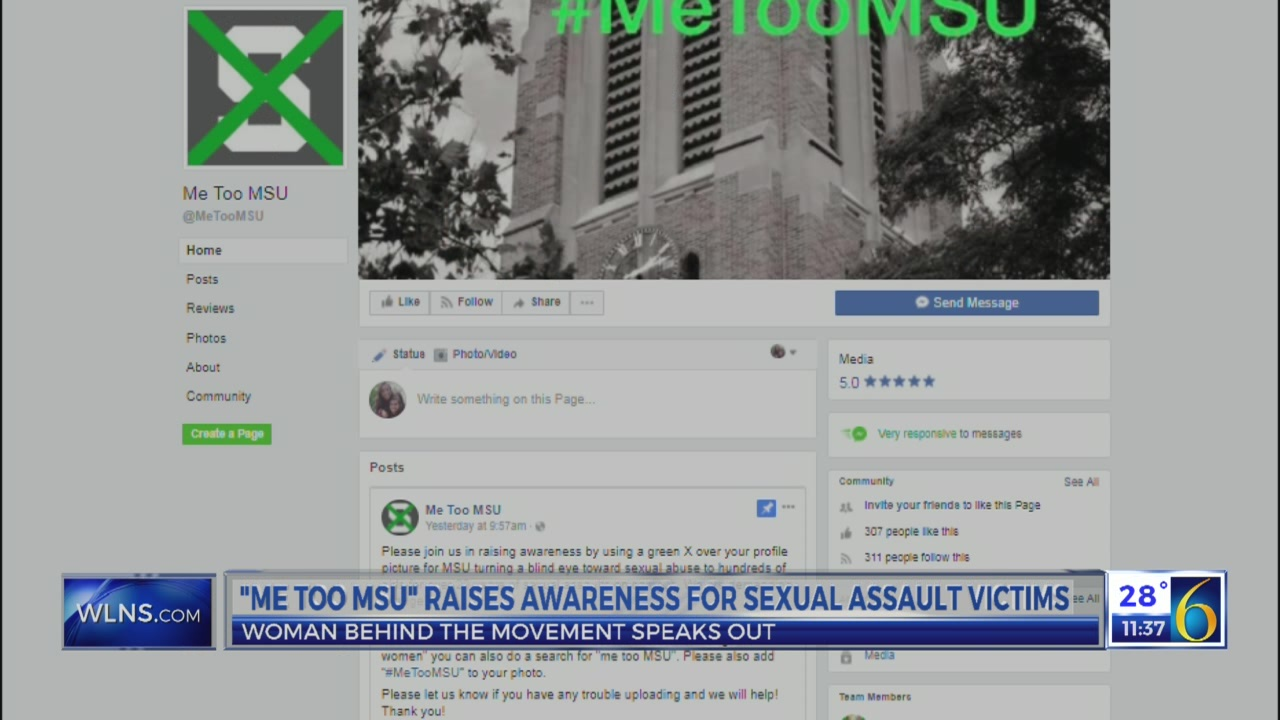 """Me Too MSU"" raises awareness"