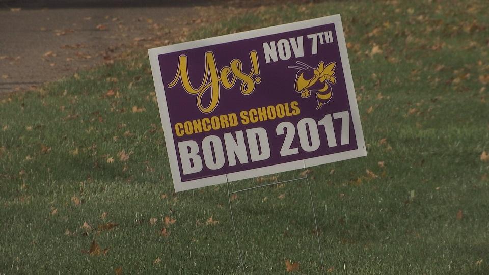 concord schools bond sign_333011