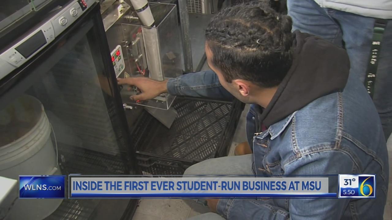 First ever MSU student run business