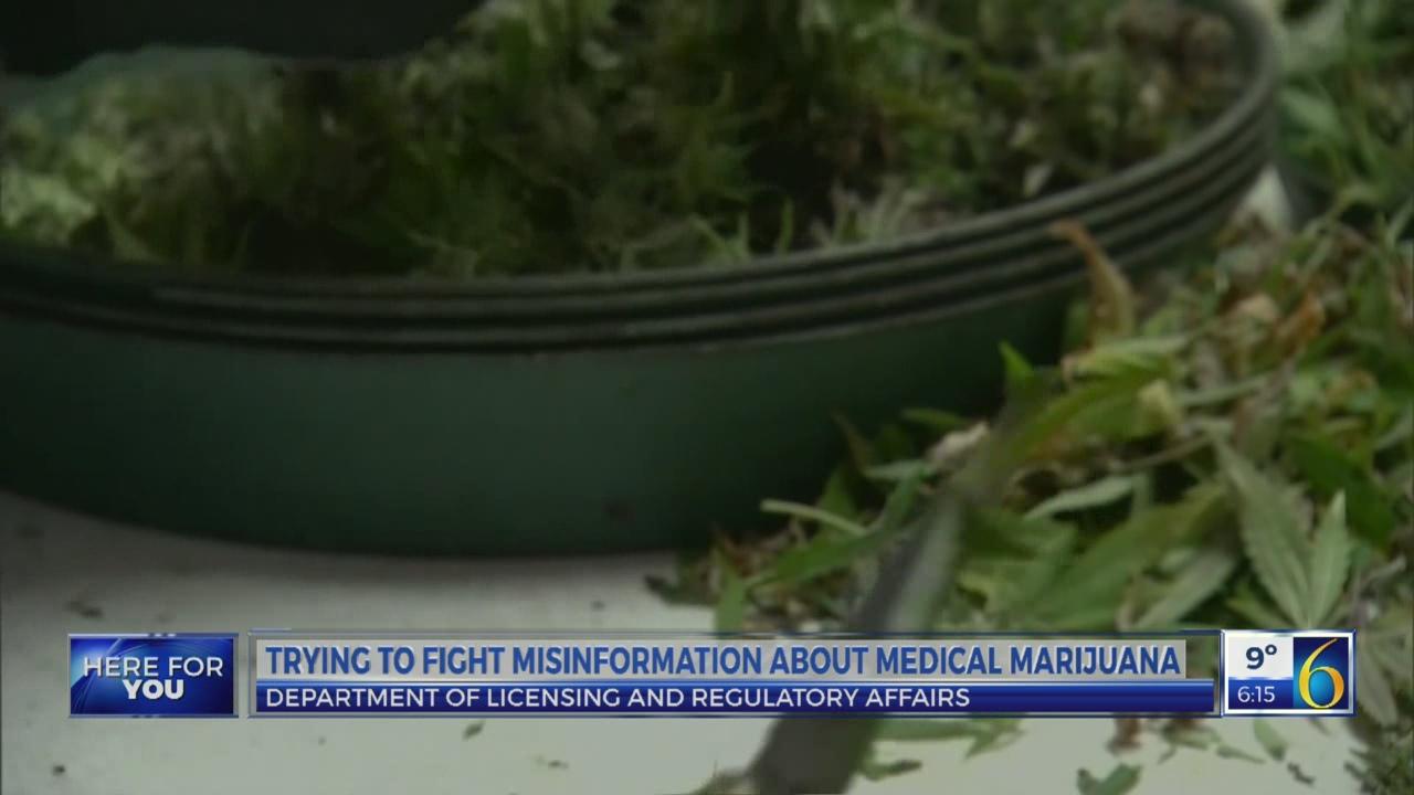 LARA officials: medical marijuana