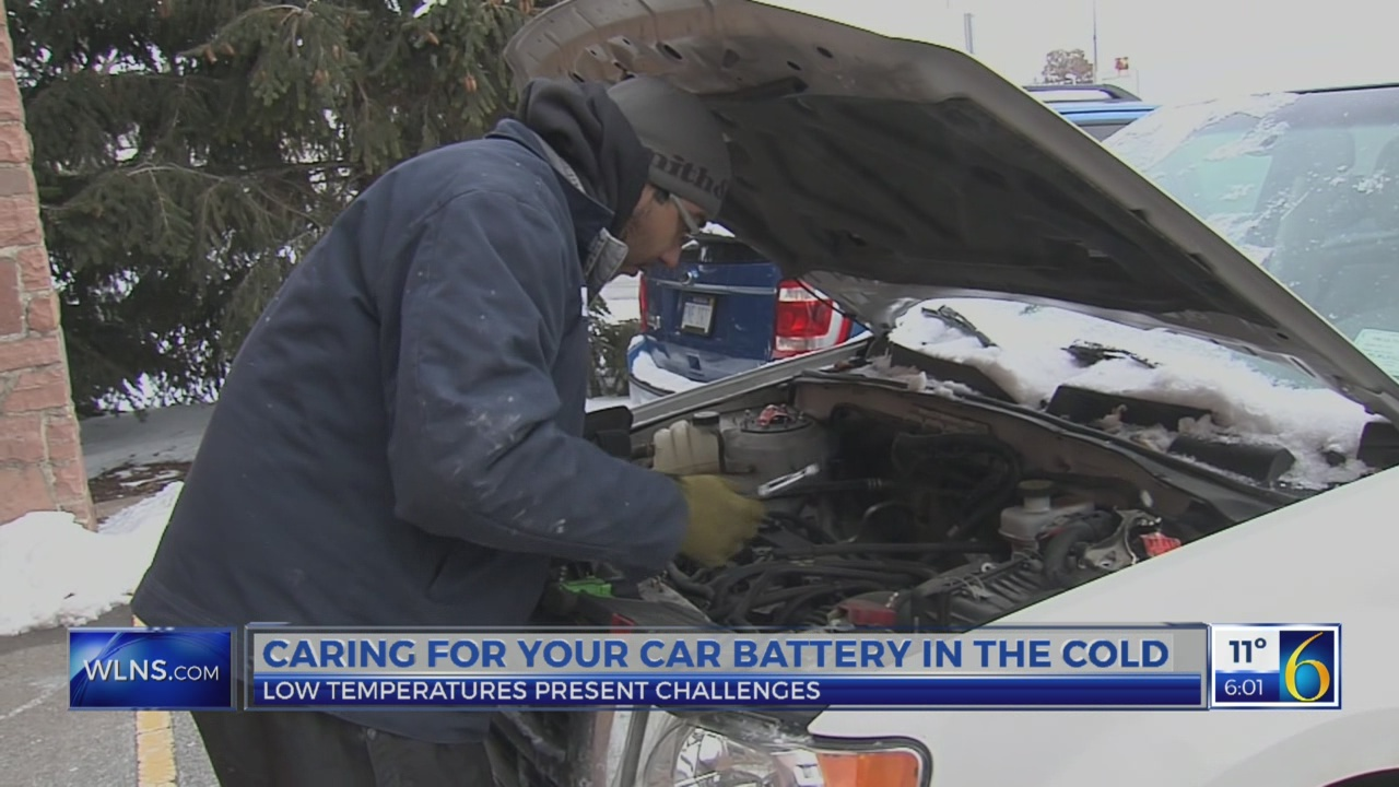 Car batteries and cold weather don't mix very well