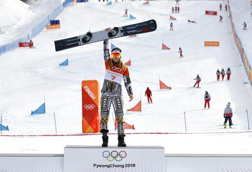 Pyeongchang Olympics Snowboard Women_375367
