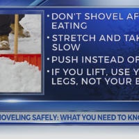 Shoveling safely