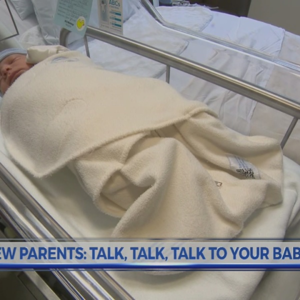 Talking to your baby