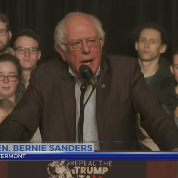 Sen. Bernie Sanders makes Lansing stop