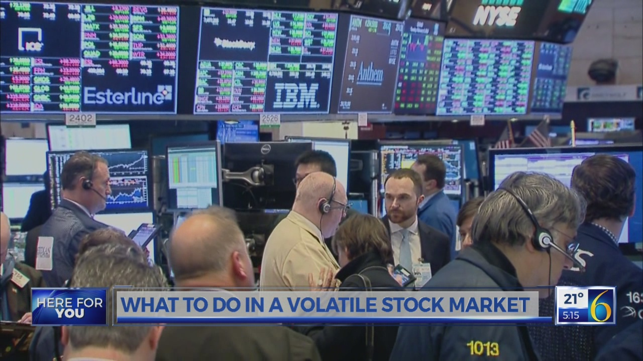 What to do in a volatile stock market