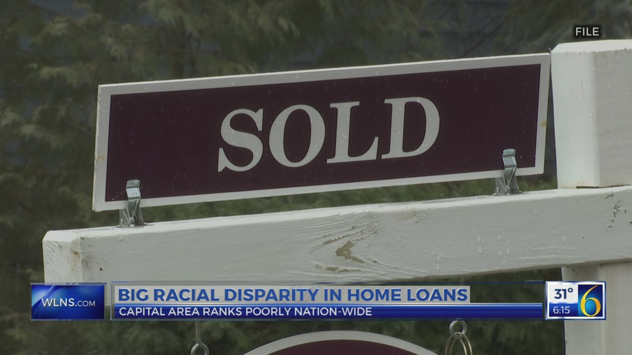 Racial disparity in home loans