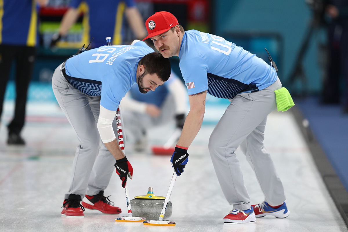 Curling – Winter Olympics Day 15_375424