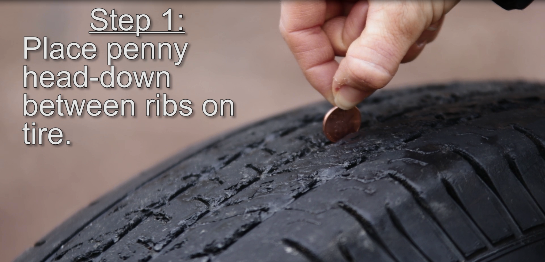 Tire Penny Test >> How To Do The Penny Test To Check Your Tire Treads