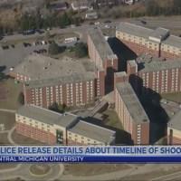 Police release CMU shooting timeline