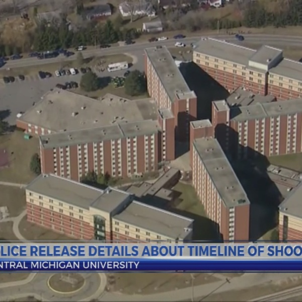 Police release CMU shooting timeline