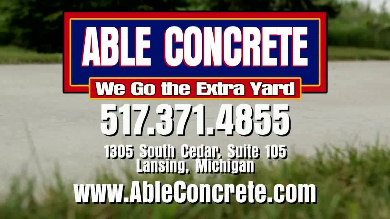 Able Concrete | We go the Extra Yard