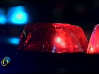 police lights night_115258