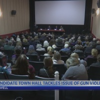 Candidate town hall tackles issues of gun violence