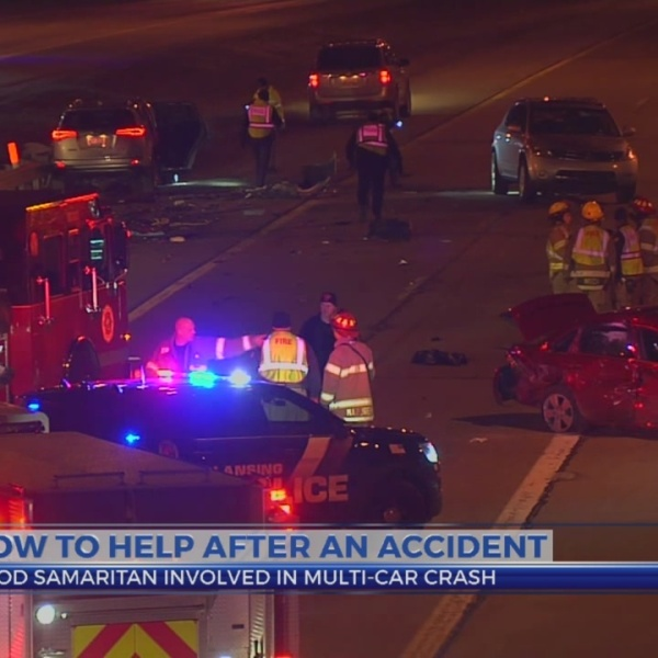 How to help in roadway accident