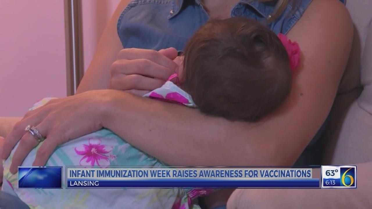 Infant Immunization Week raises awareness for vaccinations