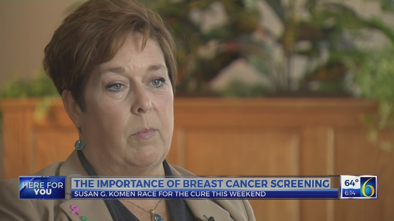 Mammogram finds early breast cancer
