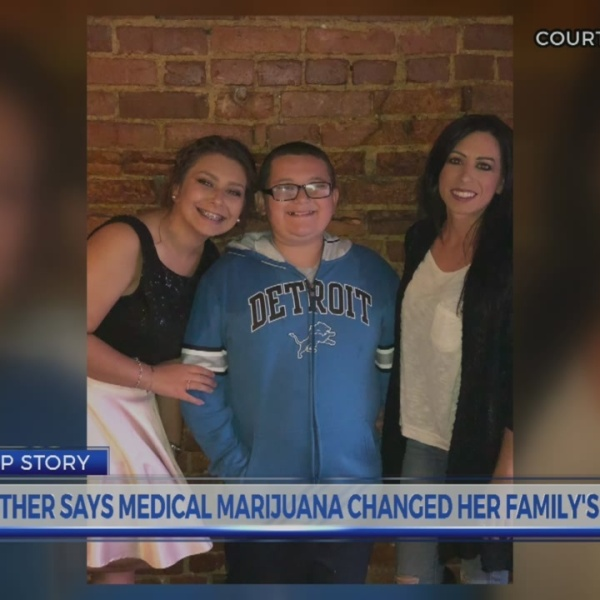 Mother says medical marijuana changed her family's life