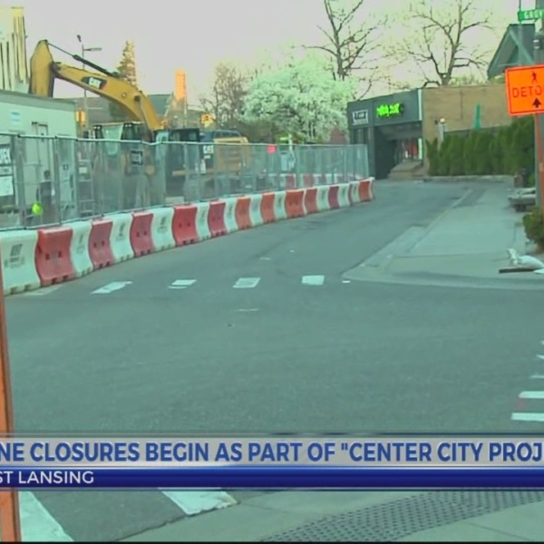 EL City Center project causes new road lane closures