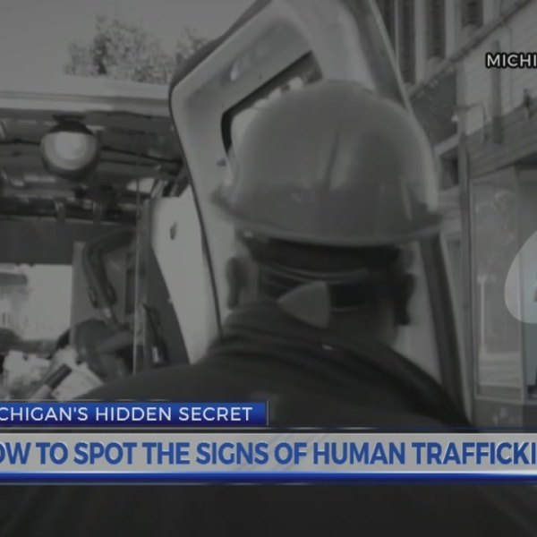 How to sport Human Trafficking