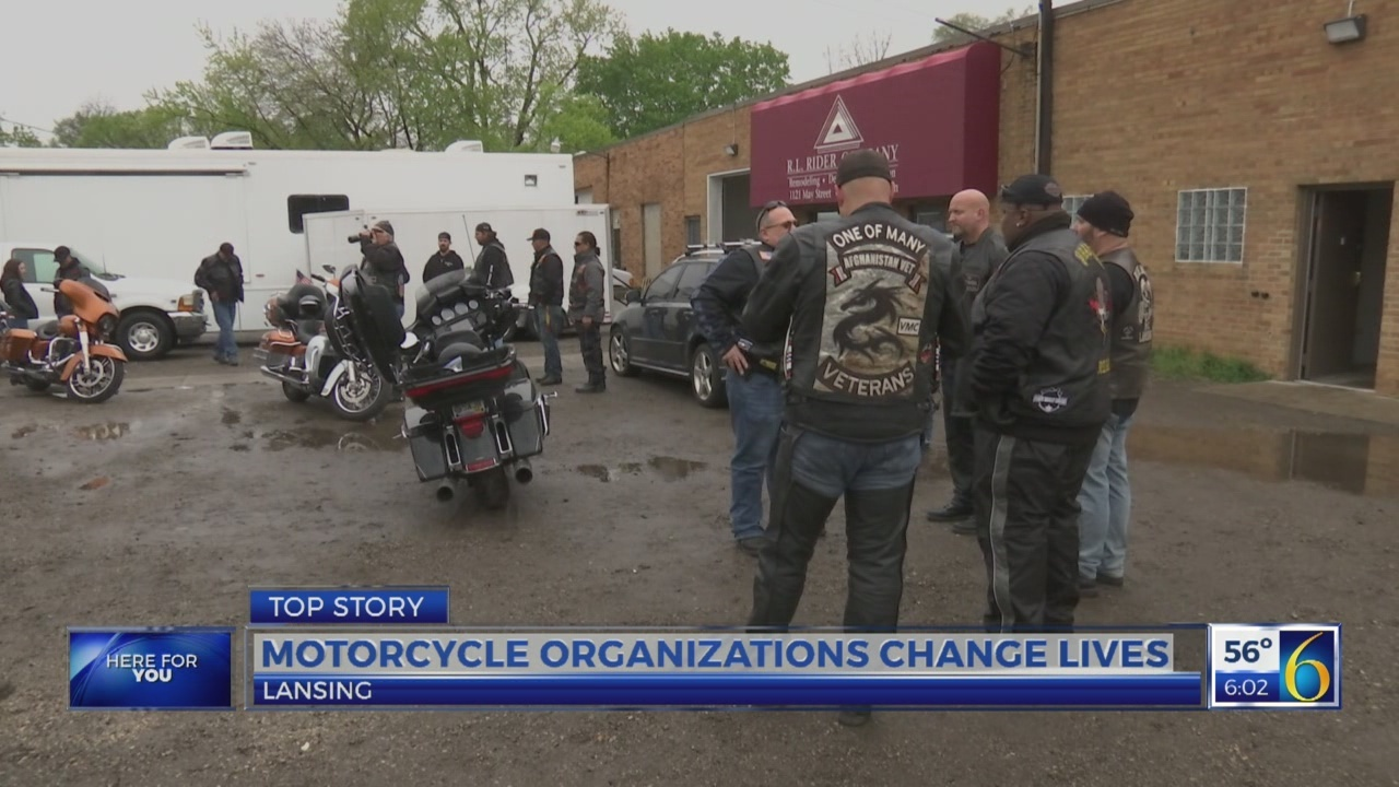 Motorcycle organizations change lives