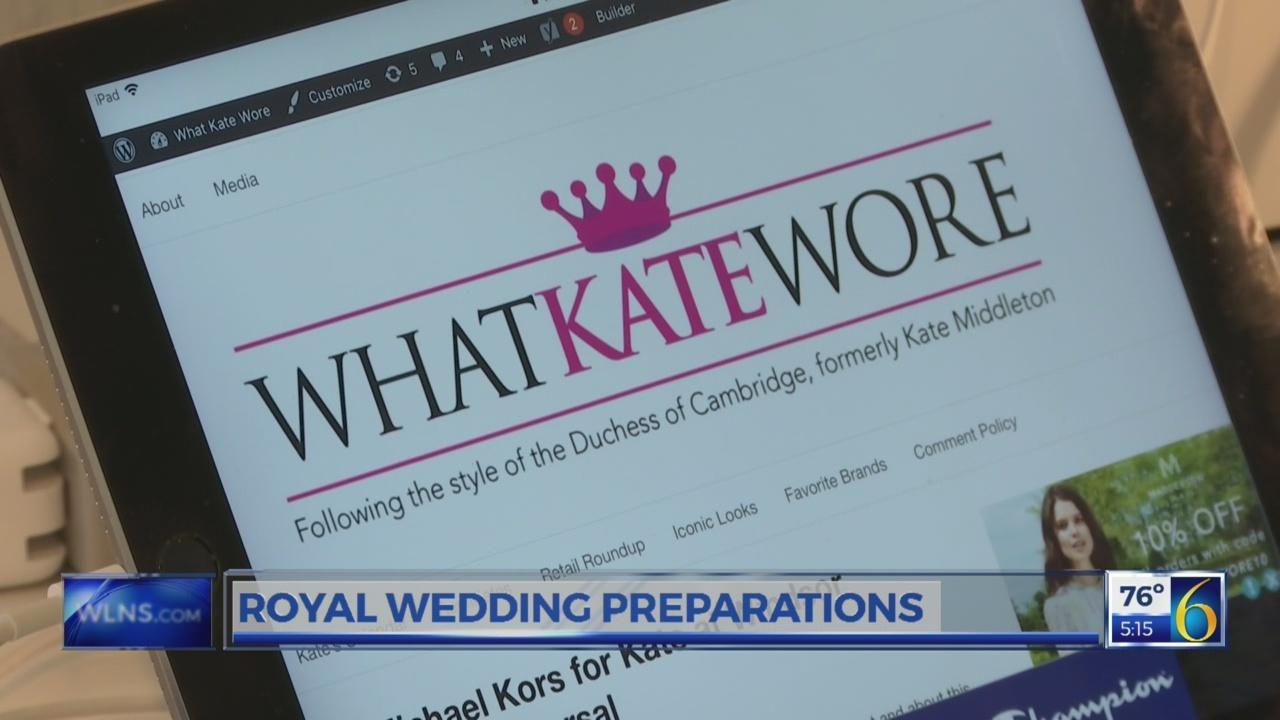 ROYAL WEDDING PREPS
