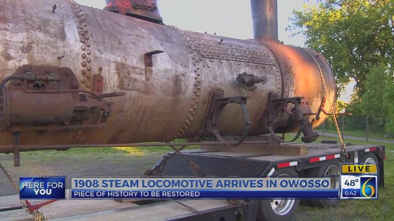 6 News This Morning: 1908 locomotive