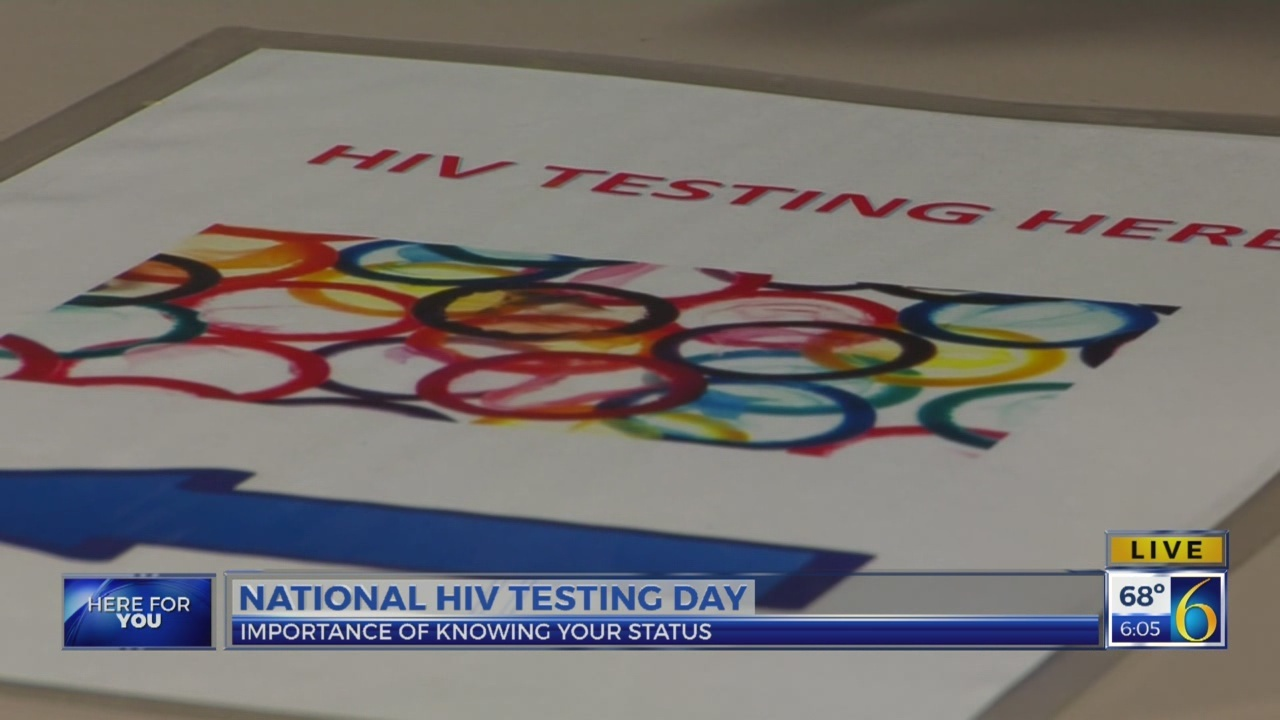 6 News This Morning: hiv testing day