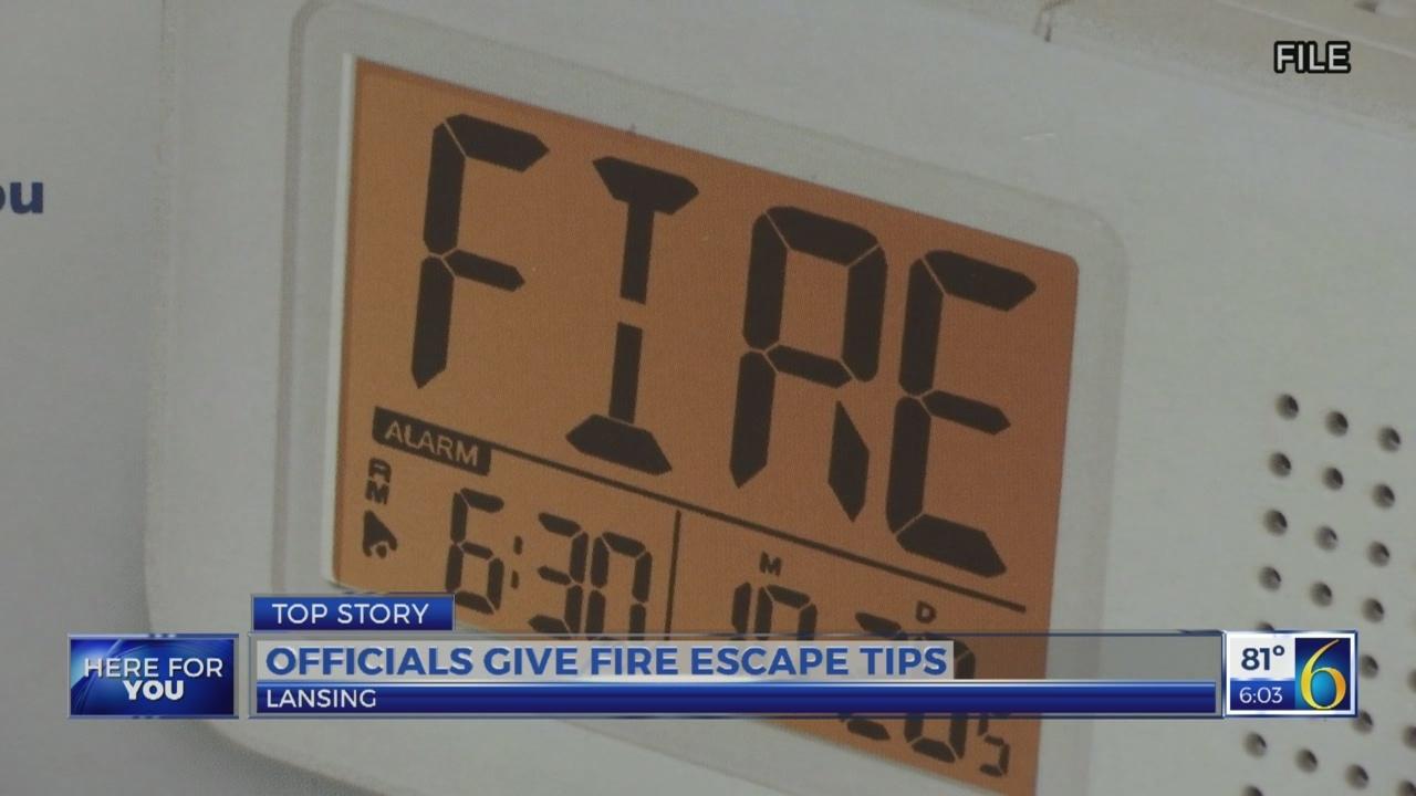 Fire escape tips