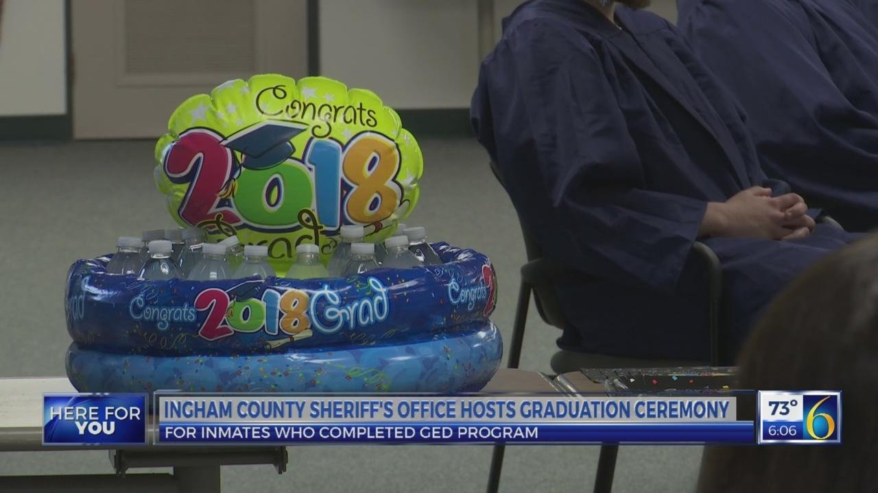 Ingham County inmate graduation