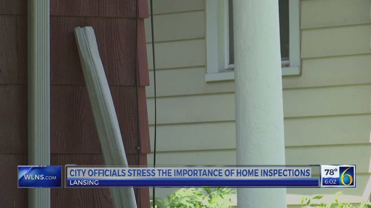 Lansing city officials stress the importance of home inspections