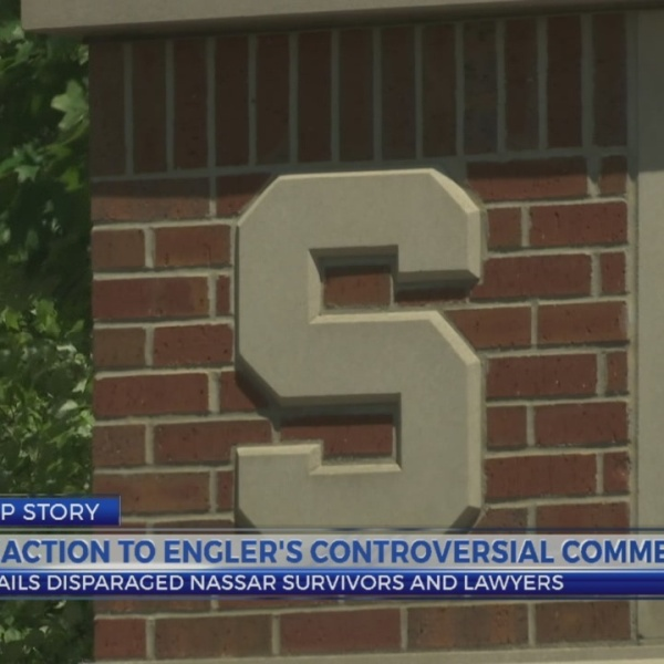 Reaction to Engler's controversial comments