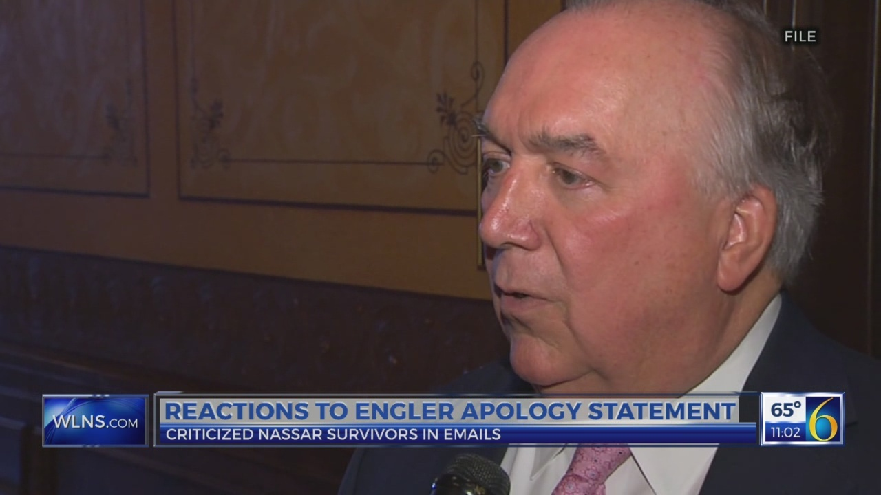 Reactions to Engler apology statement