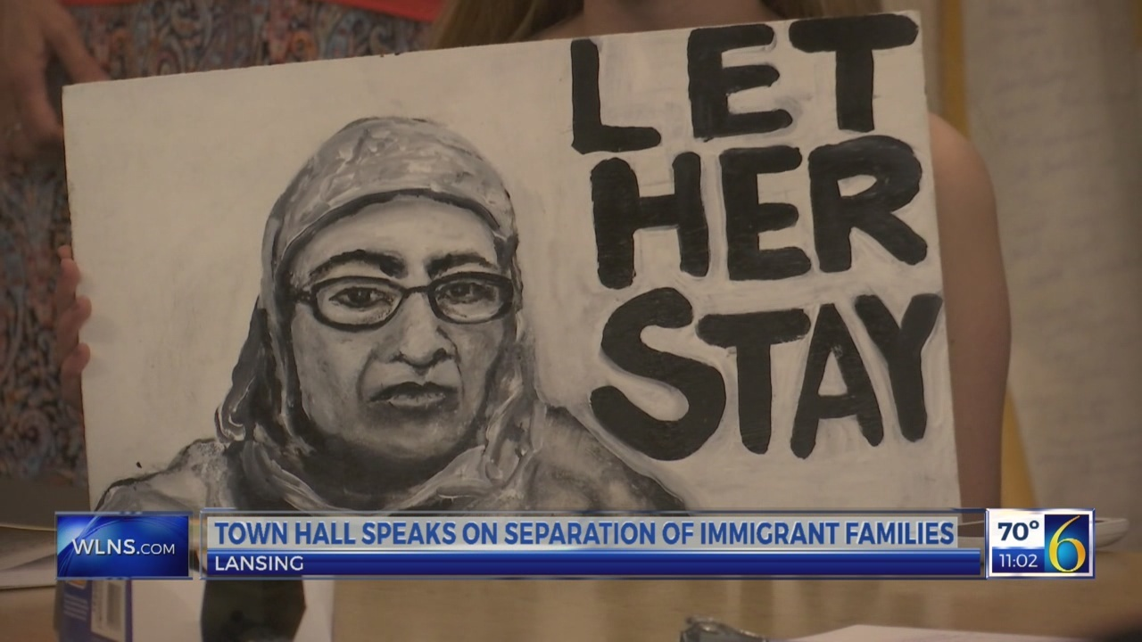 Town hall speaks on separation of immigrant families