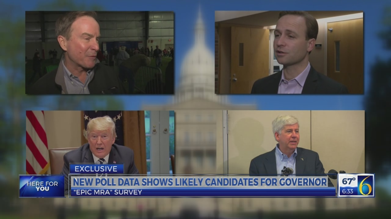 6 News This Morning: candidate primary poll