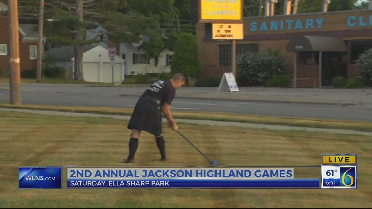 6 News This Morning: highland games