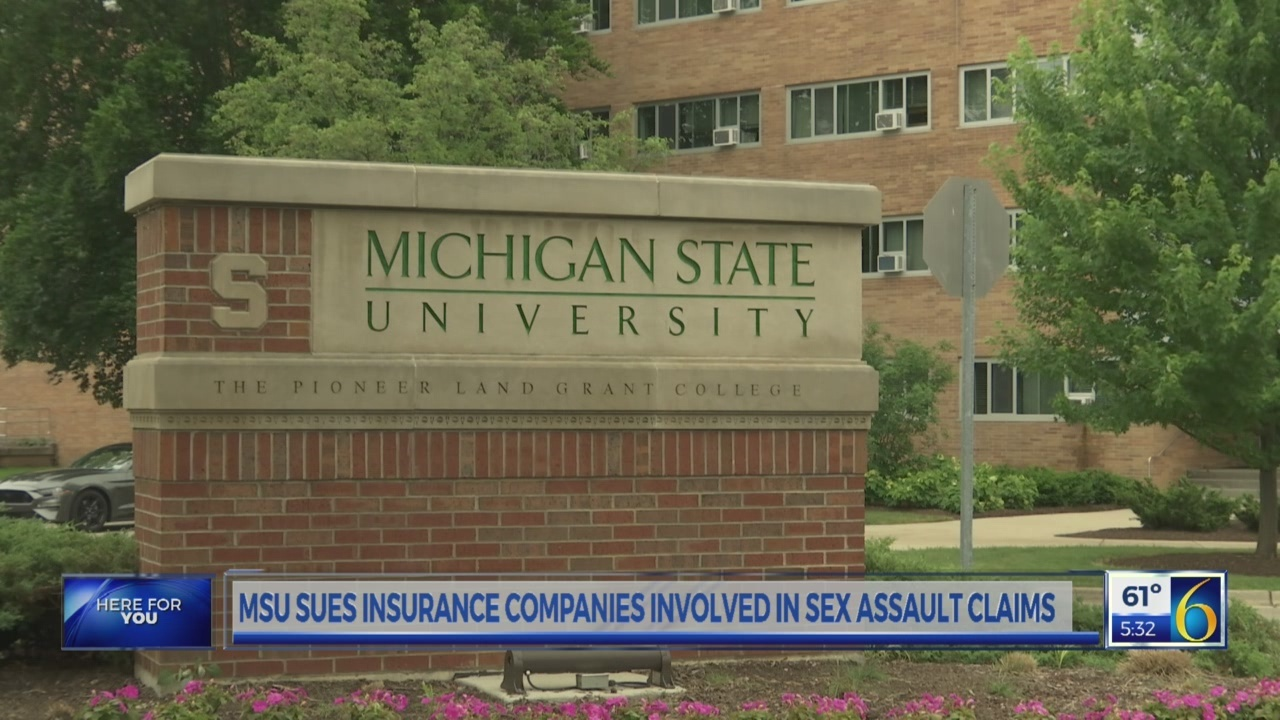 6 News This Morning: msu lawsuit