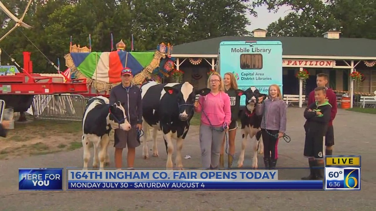 6 News at 5:30: ingham county fair