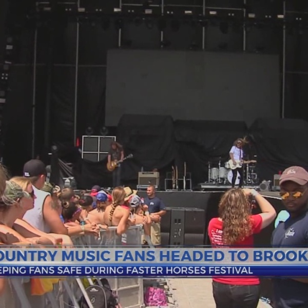 6 News at 5:30: security at faster horses