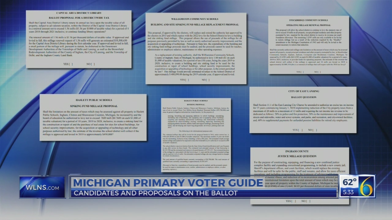 6 News at 5:30: voter guide